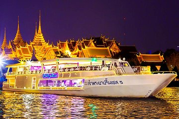 Dine in luxury aboard the Chao Phraya Princess