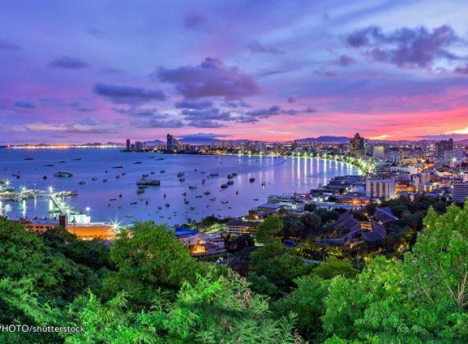 Sunset at Pattaya Viewpoint