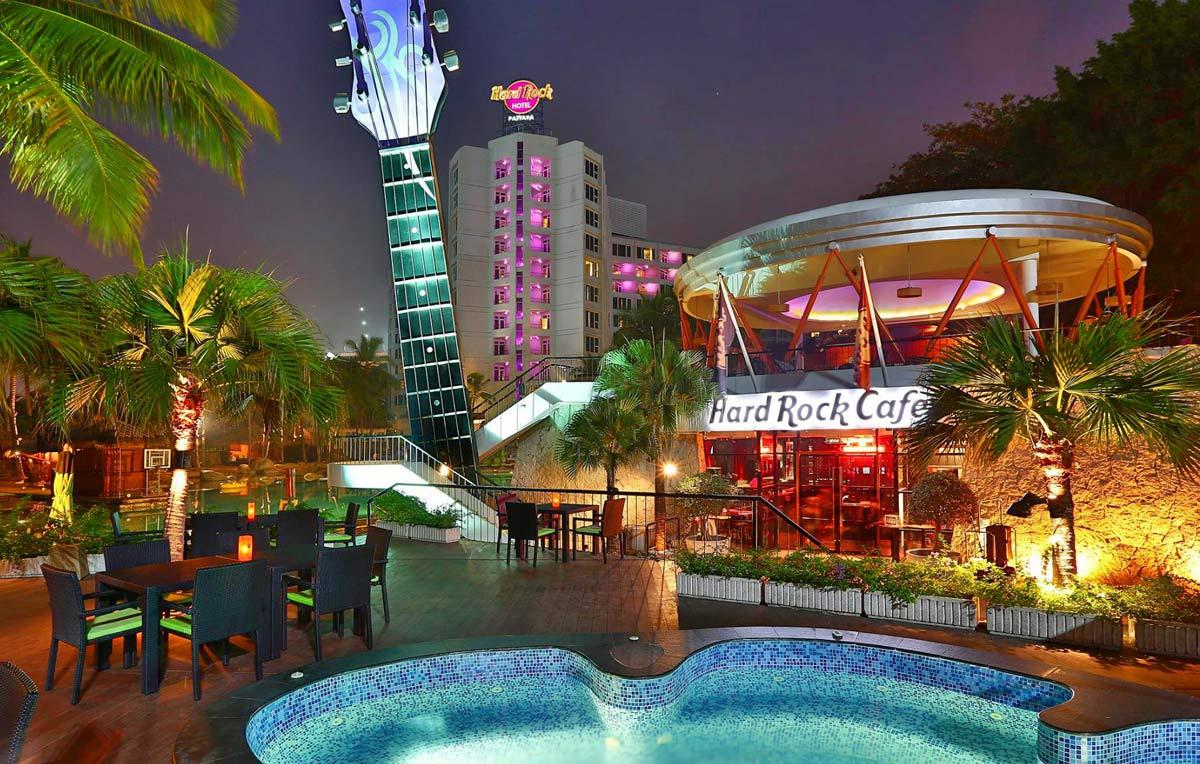 Hard Rock Café, Pattaya