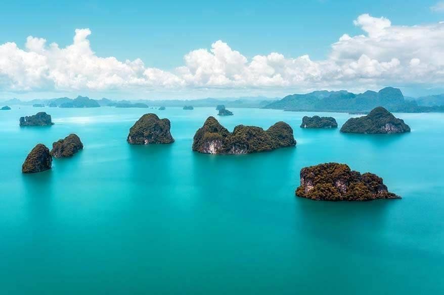 Island-hopping around Phuket
